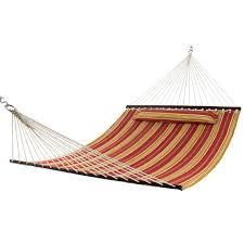 Free Standing Hammock Walmart by Hammock Quilted Fabric W Pillow Double Size Spreader Bar Heavy