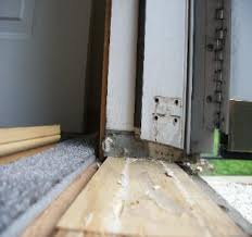 Wooden Exterior Door Threshold The Home Of Diy How To Install Repairexterior Door Threshold Sill