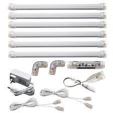 led under cabinet lighting 3000k led under cabinet lights warm white 3000k 6 panel kit dimmable