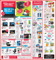 home depot black friday 2014 ad scan office depot officemax ad scan for 8 6 to 8 12 17 browse all 27