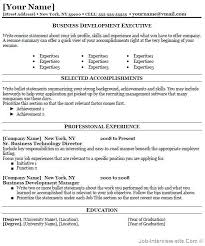 Business Resume Examples Functional Resume by Free 40 Top Professional Resume Templates