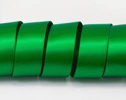 emerald green ribbon green ribbon etsy
