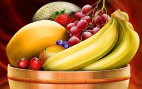 bowl of fruits a basket of fruit wallpapers high quality download free
