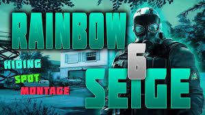 rainbow six siege hiding spot glitch montage 1 youtube