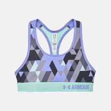 Under Armour Kids Clothes Shop Purple Under Armour Kids U0027 Heatgear Armour Printed Sports Bra