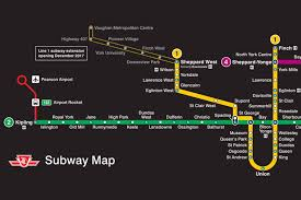 Mbta Map Subway by Ttc Maps Subway My Blog