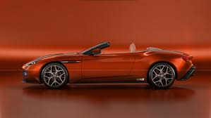 orange aston martin aston martin db11 puts on a virtual zagato italian suit