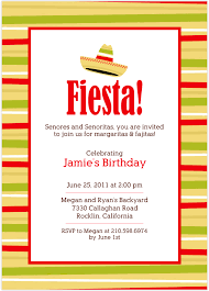 fiesta party invitations plumegiant com