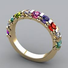 girls rings style images Colorful rings rings for girls multicolor stone ring girls jpg