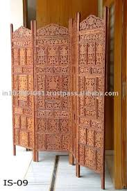innovative wooden screen room divider classic carved wood room