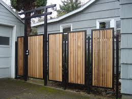 the security of cool fences for modern house modern house design