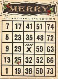 christmas bingo 10 free printable cards christmas seasonal
