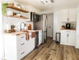 rv kitchen cabinet storage ideas rv kitchen remodel new cabinets sink before and after