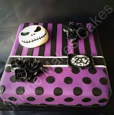 nightmare before makes sinister cakes