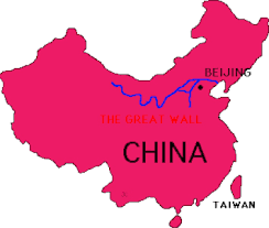 Map Great Wall Of China by Great Wall Of China By Maddy White