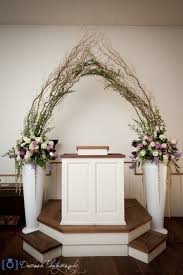 Chapel Hill Florist Rebel Hill Florist Wedding Altar Floral Arrangement Photo Album