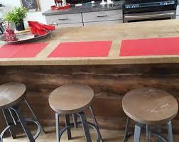 salvaged wood kitchen island kitchen islands etsy