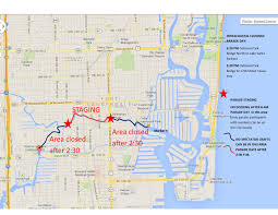 Map Of Ft Lauderdale When Are The Bridges Up The Seminole Hard Rock Winterfest Boat
