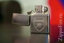 arsenal zippo lighter zippo 250afc arsenal football club зажигалка зиппо с футбольным