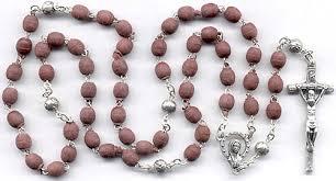 petal rosary rosaries scented
