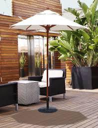 Heavy Duty Patio Umbrellas Patio Ideas Heavy Duty Patio Umbrella With Wooden Deck Pattern