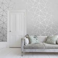 sample zara shimmer metallic wallpaper soft grey silver