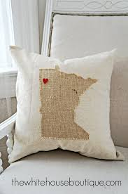 no sew state pillow diy stuff to make pinterest pillows