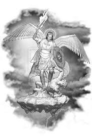 Tattoo Ideas Of Angels Saint Michael Tattoo With Cross Tattoo Pinterest St Michael