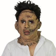 leatherface mask the chainsaw leatherface masks scary