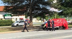 two die in fiery bel air crash saturday afternoon the aegis