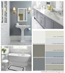 what wall color goes best with gray cabinets choosing bathroom wall and cabinet colors paint it monday