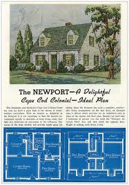 1930 cape cod style house plan house plans
