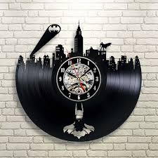 best wall clocks batman gotham city logo best wall clock decorate your home with