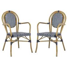 Stackable Patio Furniture Set Blue Patio Dining Chairs You U0027ll Love Wayfair