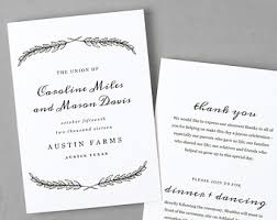 Easy Wedding Programs Programs Swell U0026 Grand