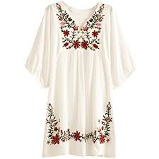 dressy white blouses asher white embroidered peasant dressy tops blouses one