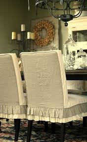 Dining Room Chair Cover Ideas Best 20 Dining Room Chair Slipcovers Ideas On Pinterest Dining