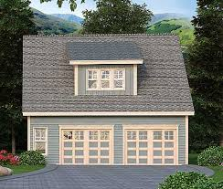 detached garage plan with office 29867rl carriage 2nd floor