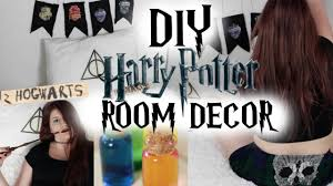 diy harry potter room decor youtube