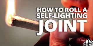 How To Light A Cigarette Without Lighter How To Roll A Joint That Lights Itself