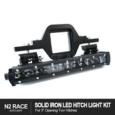 led backup light bar solid iron led hitch light kit with slim led light bar backup
