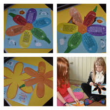 leaf shaped writing paper let the little children come review angelicscalliwags with the writing side faced upwards the user simply gathers the two stalk pieces and slots them through the slits in the remaining arms