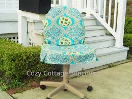 Office Chair Slipcover Pattern Cozy Cottage Slipcovers Office Chair Slipcovers