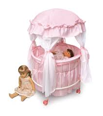 badger basket doll crib with cabinet amazon com badger basket royal pavilion round doll crib with canopy