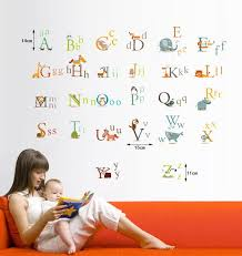 Best  Abc Wall Ideas Only On Pinterest Abc Nursery Childrens - Alphabet wall decals for kids rooms