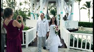 palladium wedding destination wedding 2012 grand palladium punta cana resort spa