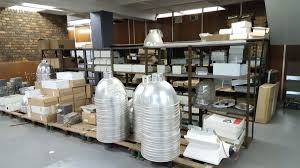 Jet Park Gauteng Large Amount Of Electrical Stock Shelving - Office furniture auction