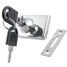 single glass door cabinet amazon com uxcell cabinet display case metal lock for 7 20