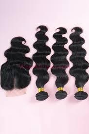top closure peruvian hair wave a silk top closure with 3pcs weft