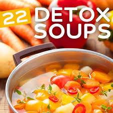 cuisine de az minceur 22 detox soups to cleanse and revitalize your system minceur